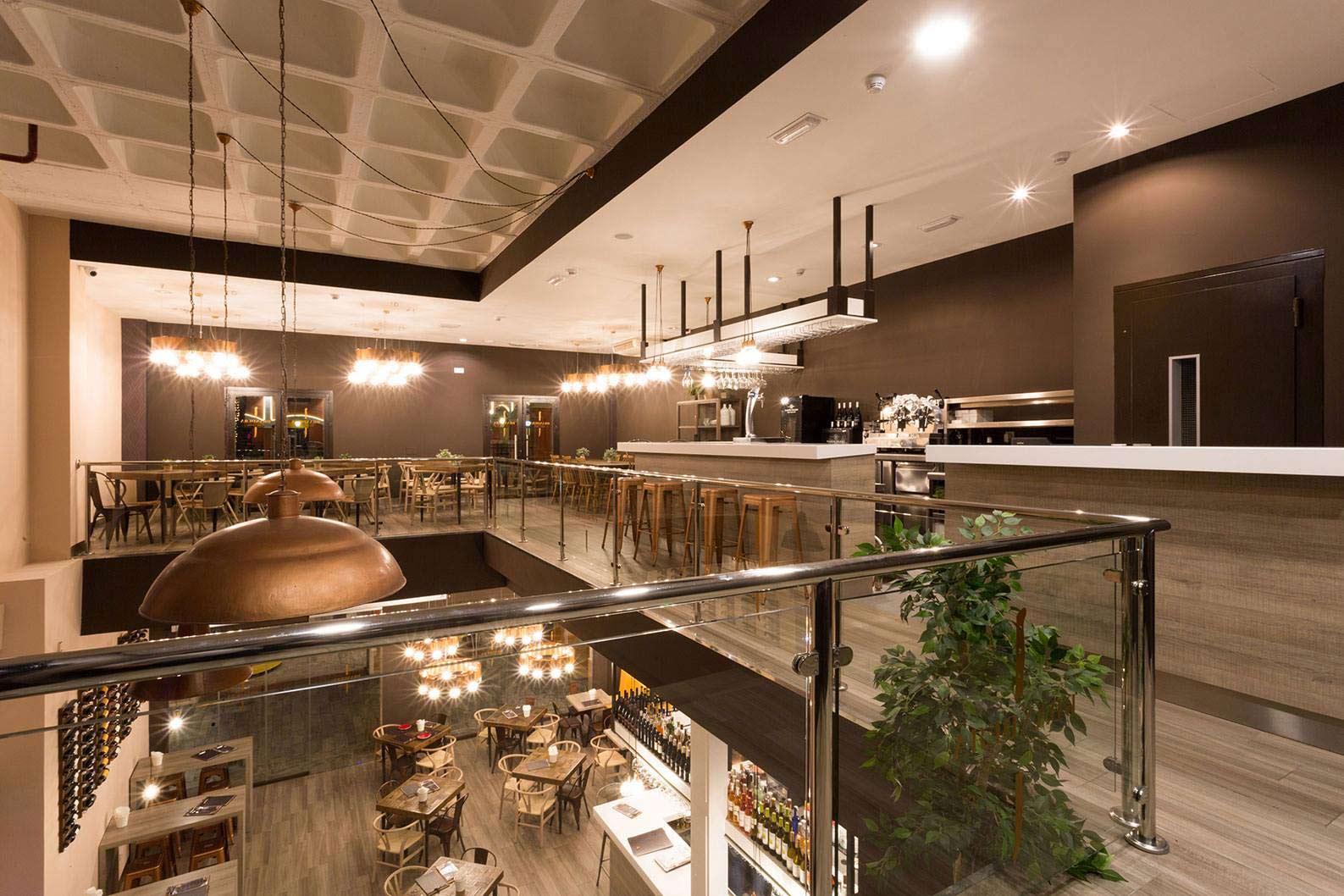 Estudio de decoración e iluminacion de bares y restaurantes