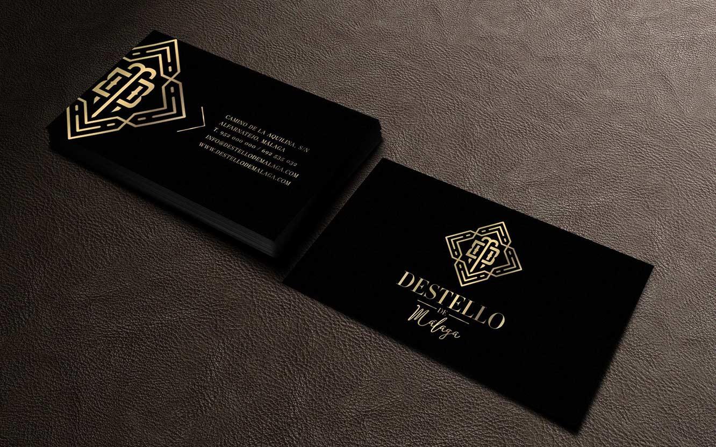 Destello de Málaga, diseño de logotipo y packaging para aceites en Málaga