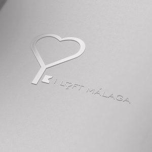 I loft malaga, logotipo, imagen corporativa