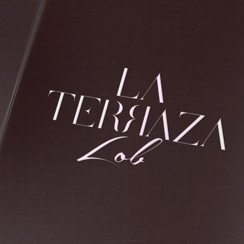 La Terraza Lob, diseño de logotipo moderno para sitio chill out en zona gourmet de El Corte Inglés