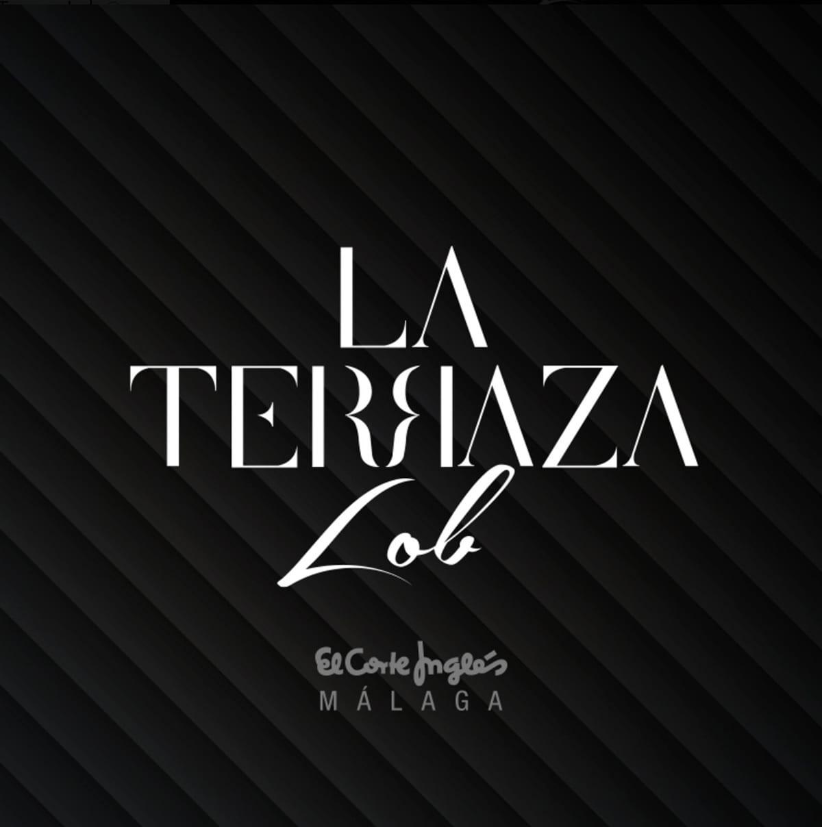 La terraza lob, El corte inglés. Diseño de imagen para bar de copas en Málaga