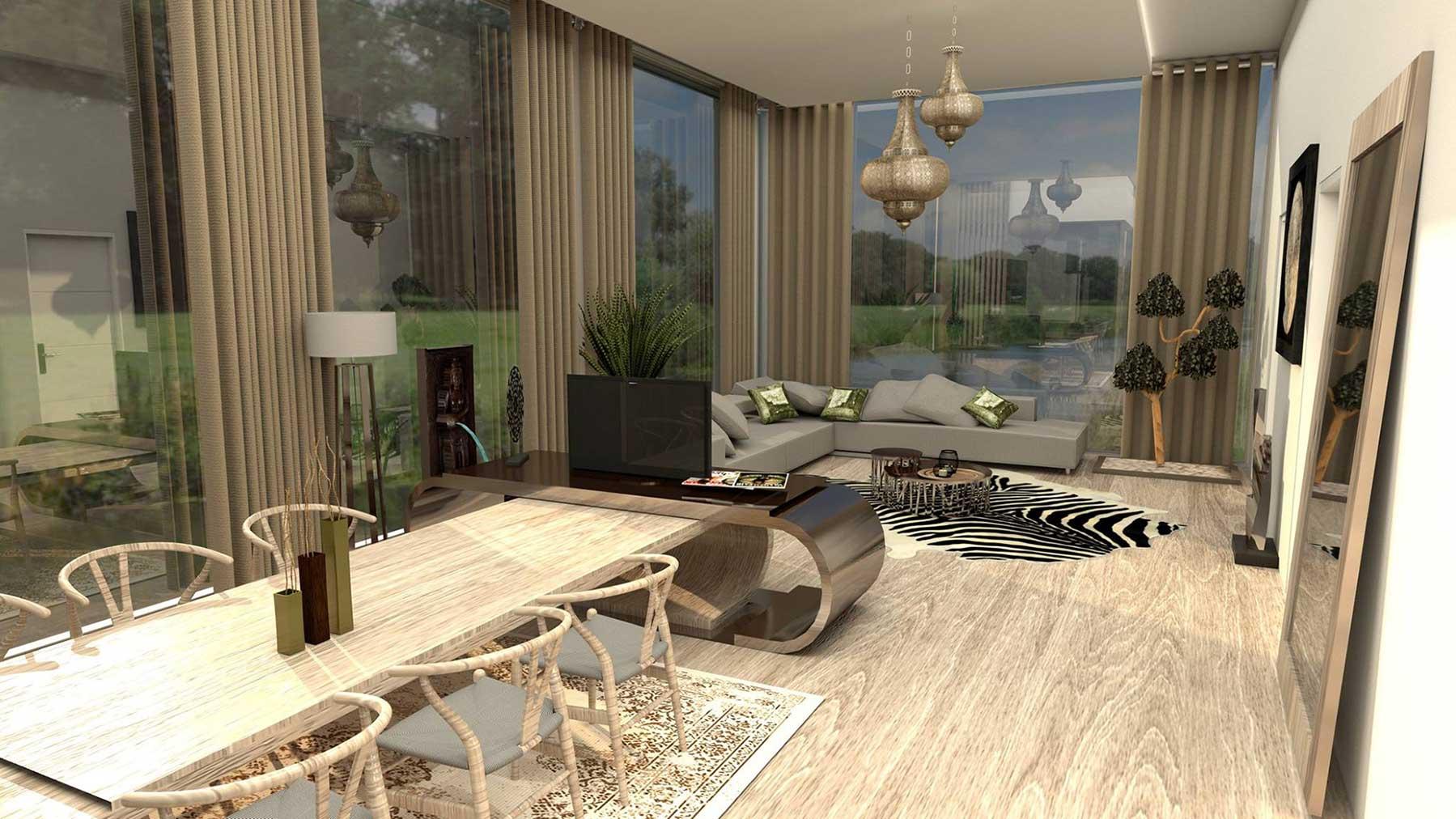 Marbella, infografía 3D, diseño