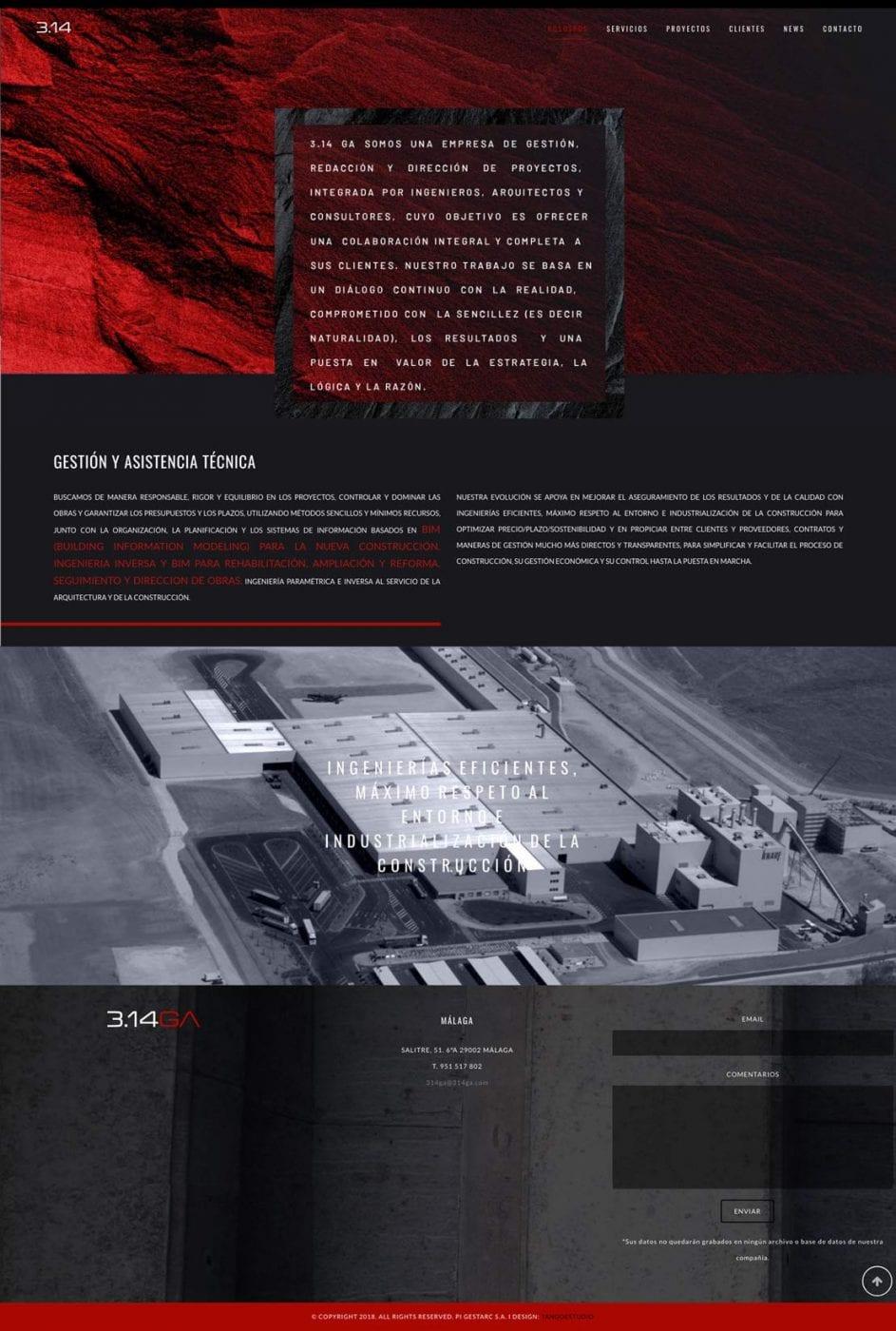 programacion de web original y elegante