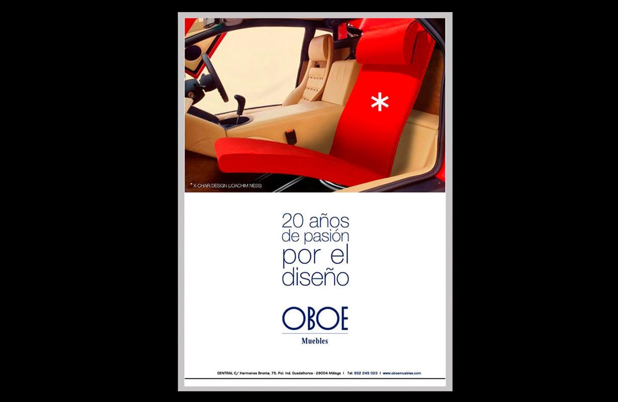 Oboe, muebles, Málaga, creatividad