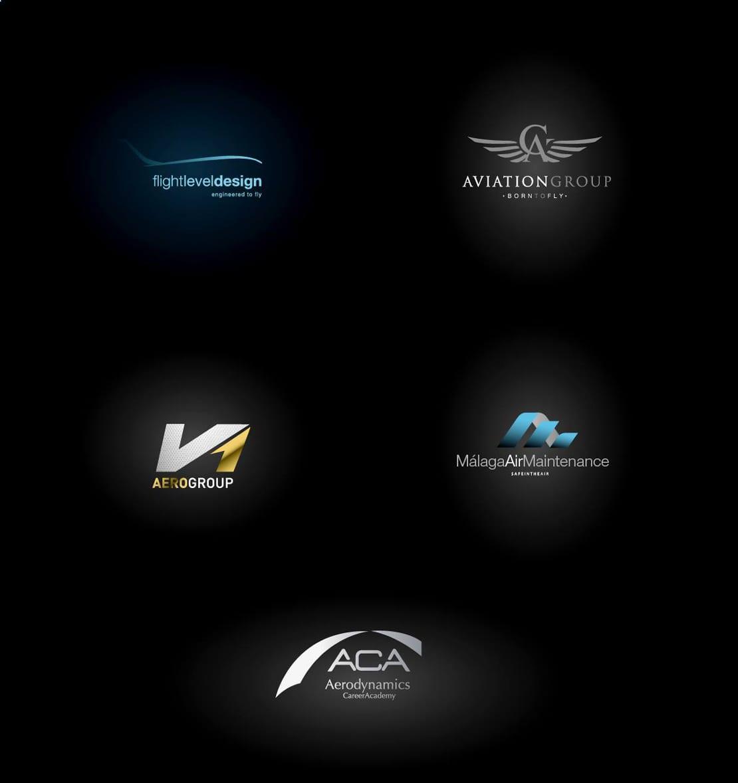 Aviation Group, diseño de logotipo