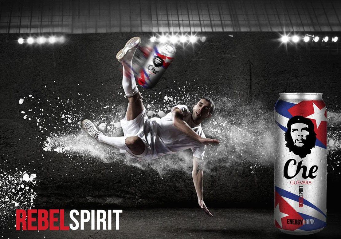 anuncio creativo en campaña de publicidad de producto