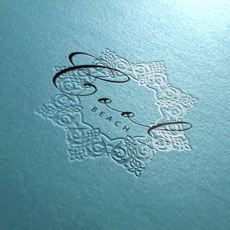 diseño de logotipo para chiringuito de playa