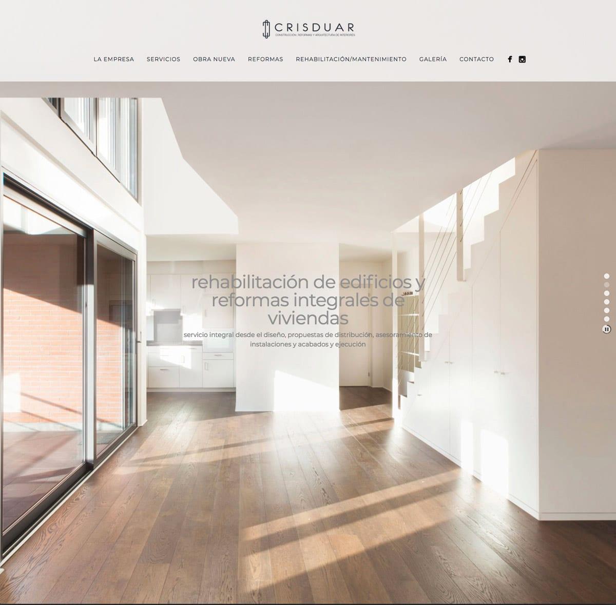 diseño web elegante full size
