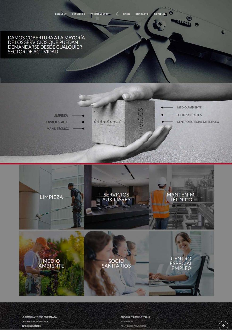 diseño de landing page para empresas