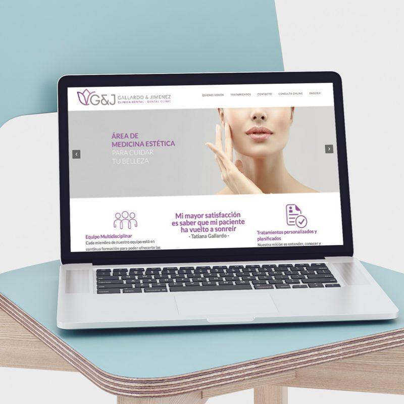 Clínica Dental, diseño para tablets y dispositivos moviles