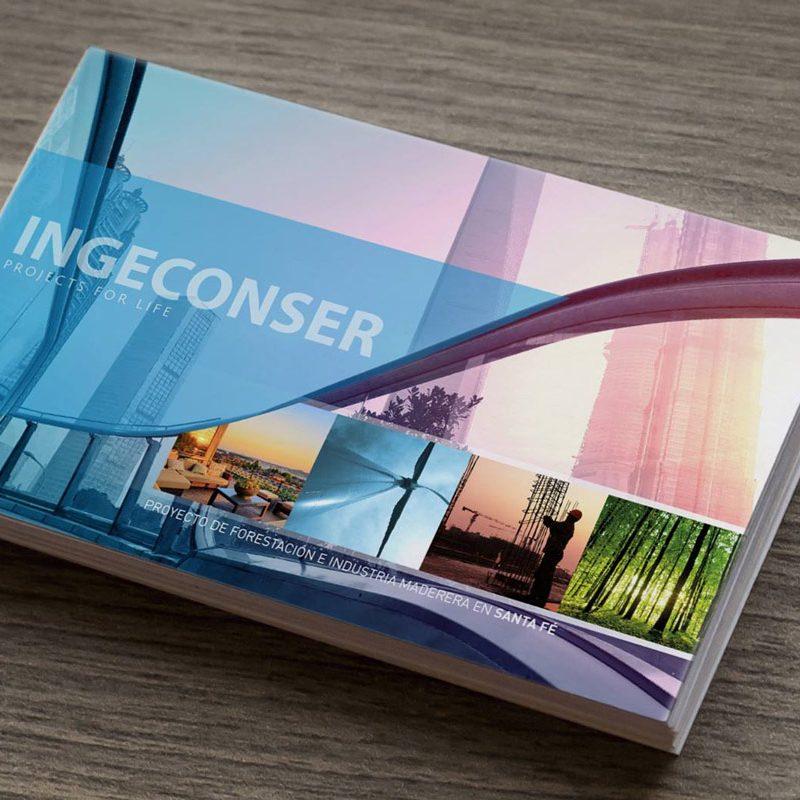 diseño de portadas de dossier para empresas
