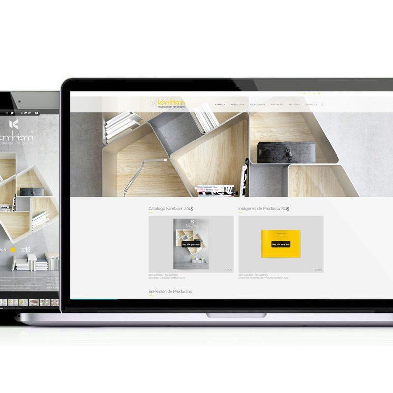 neurodesign for people, diseño web para empresa de muebles personalizados