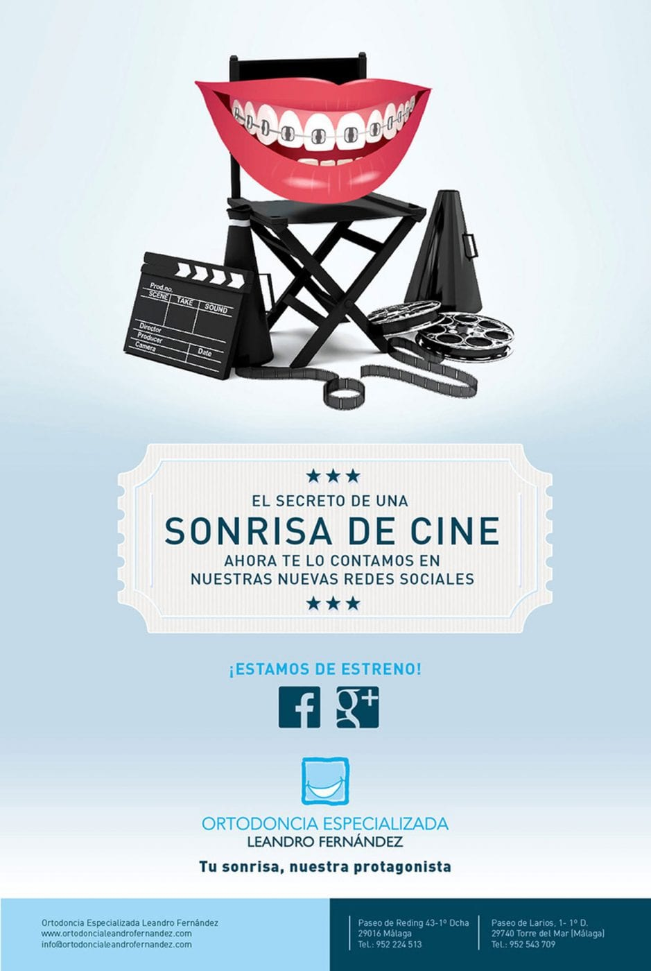 Ortodoncia especializada, Leandro Fernández, campaña creativa