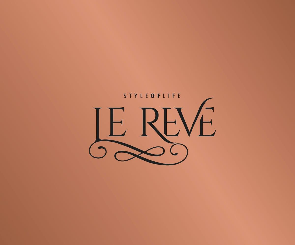diseño elegante de logotipo en color cobre