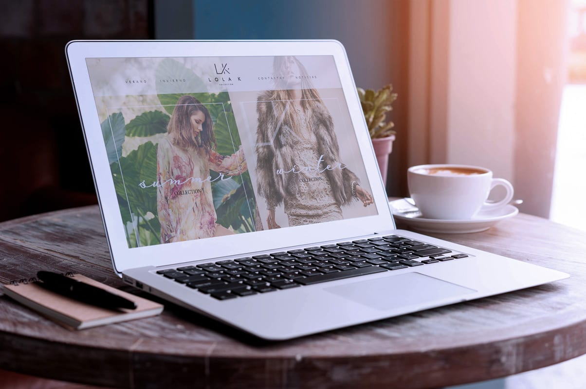 Lola K, diseño multimedia, responsive