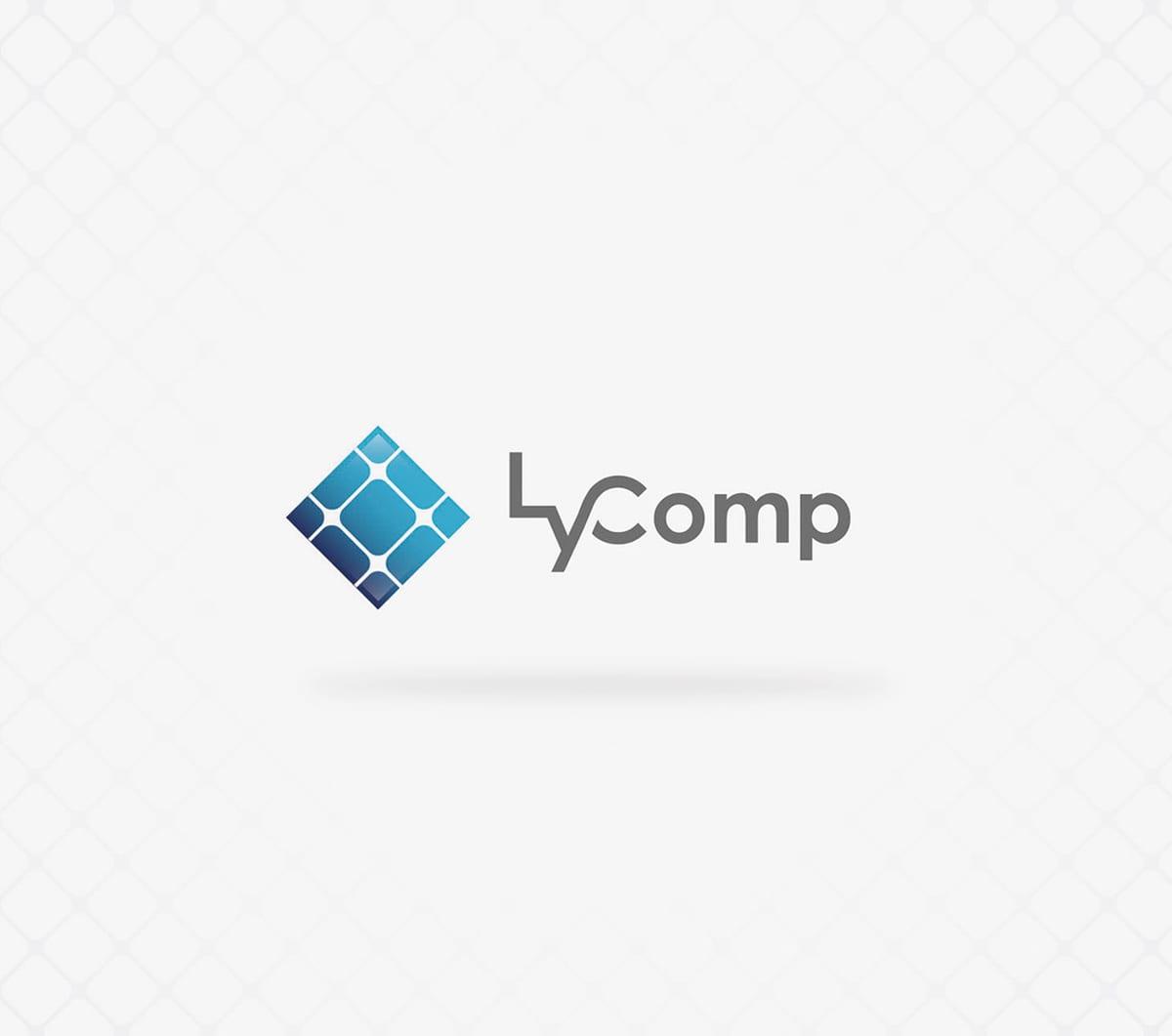 diseño de logotipo e imagen de marca para empresa de energia