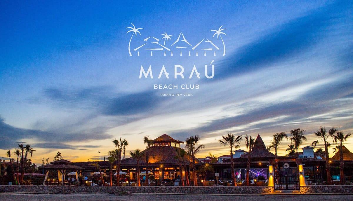 Marau, Almería, Beach club, diseño e imagen corporativa