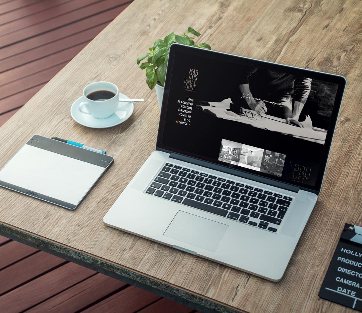 diseño de pagina web para arquitectura