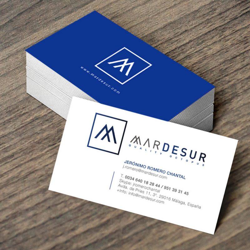 diseño de tarjeta de visita economica