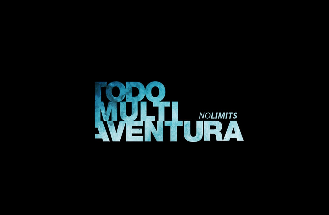 Todo Multi aventura, logotipo dinamico y creativo