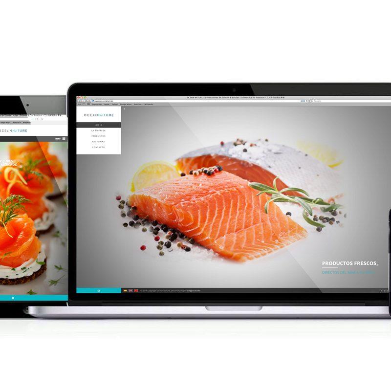 oceannature, diseños responsive y adaptados a dispositivos