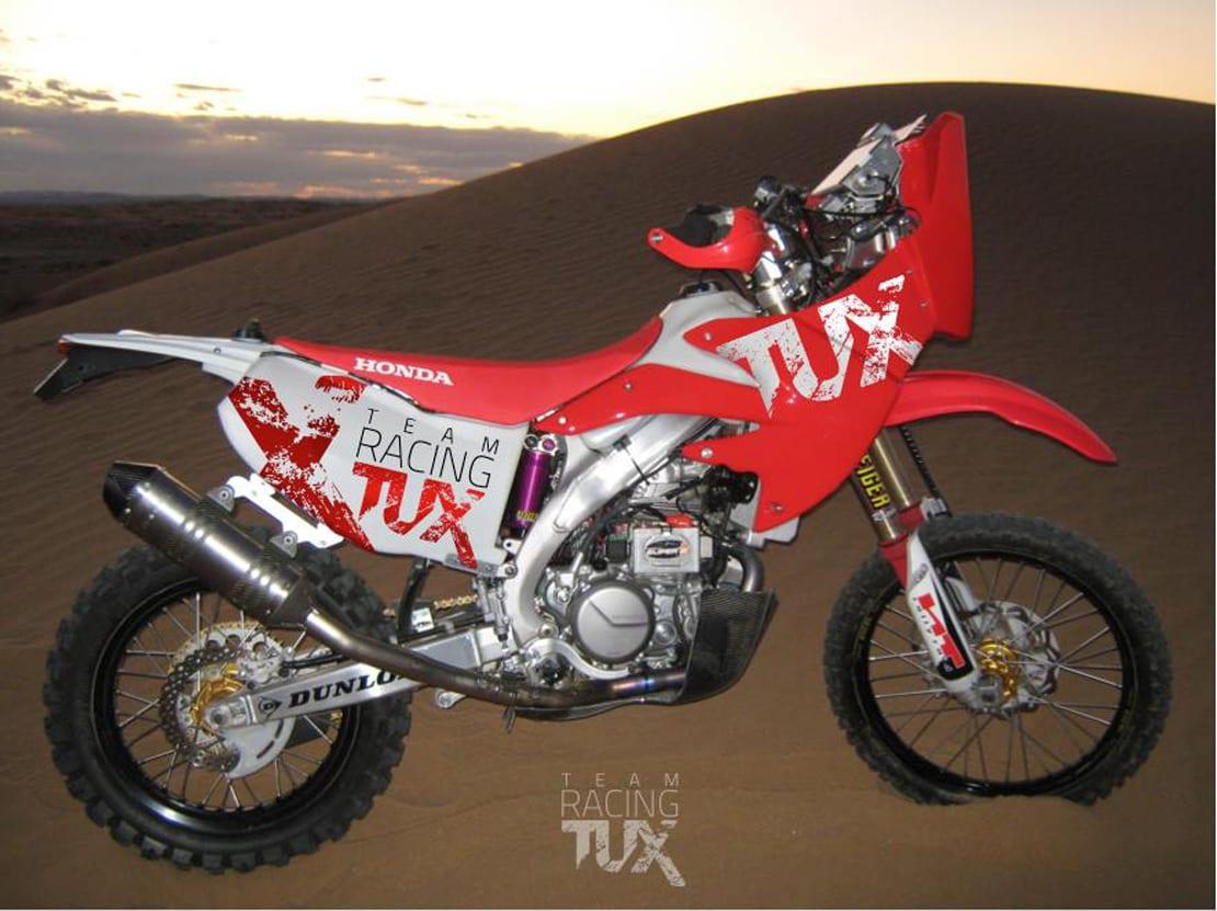 diseño de moto con vinilo