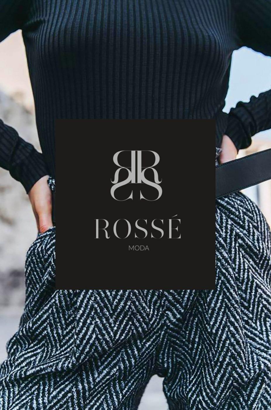 Rosse Modas, Málaga, creaciñon de logotipo