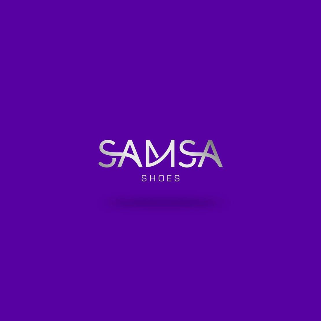 diseño de logo para samsa