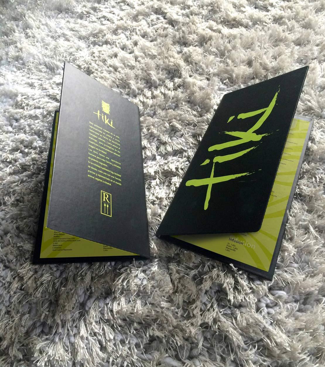 TIKI, diseño de cartas para japones