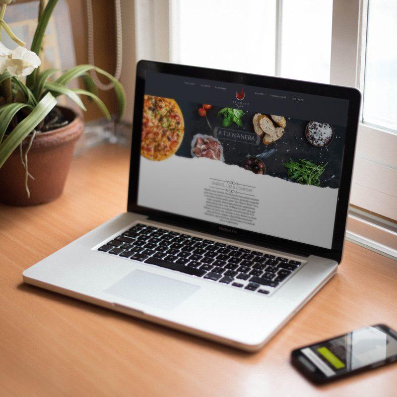 Diseño web para restaurante