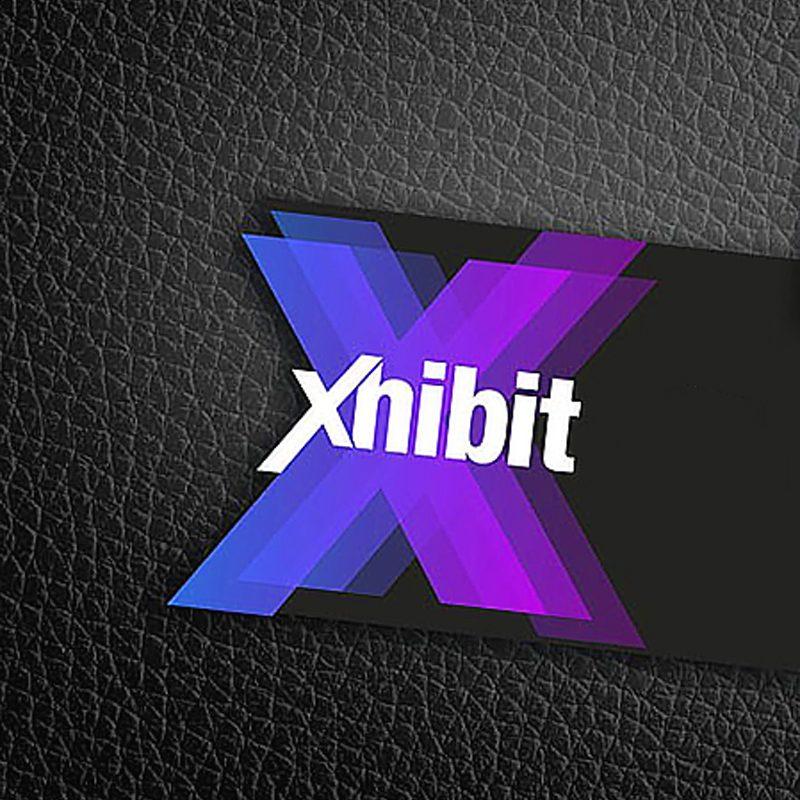 diseño de tarjeta de visita para compañia de exhibidores