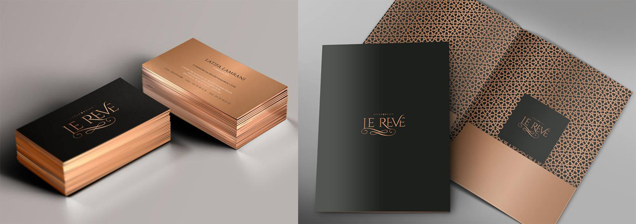 diseño de papeleria corporativa, tarjetas y carpeta