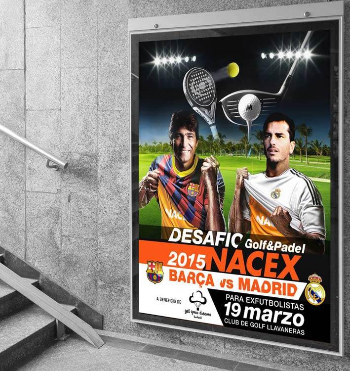 Diseño de cartel creativo para desafio Nacex